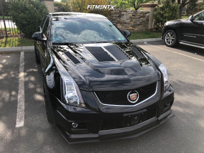 2009 Cadillac CTS - 20x9 35mm - Stance Sf-03 - Stock Suspension - 255/35R20