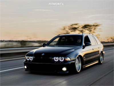 2000 BMW 528i - 17x8 30mm - BBS Style 5 - Coilovers - 225/45R17