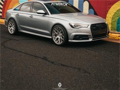 2017 Audi A6 Quattro - 20x10 25mm - Avant Garde M590 - Stock Suspension - 275/35R20
