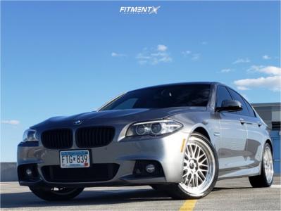 2014 BMW 528i xDrive - 20x8.5 30mm - Jnc Jnc005 - Stock Suspension - 255/35R20