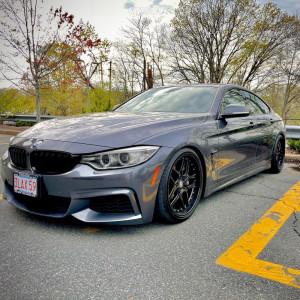 2015 BMW 435i xDrive Gran Coupe - 19x9.5 35mm - ESR Cs15 - Coilovers - 235/35R19