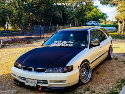 1997 Honda Accord - 17x10 15mm - ESM 002r - Coilovers - 205/40R17