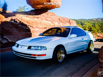 1992 Honda Prelude - 15x9 20mm - Circuit Performance Cp29 - Stock Suspension - 195/40R15