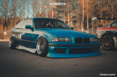 1992 BMW 325i - 17x9 0mm - Mille Miglia Mm2000 - Air Suspension - 215/40R17