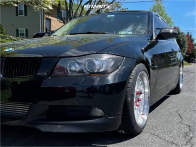 2007 BMW 335xi - 18x9.5 35mm - ESR Cs11 - Coilovers - 255/40R18