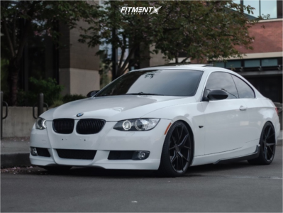 2007 BMW 328xi - 19x8.5 45mm - Verde Axis - Coilovers - 225/35R19