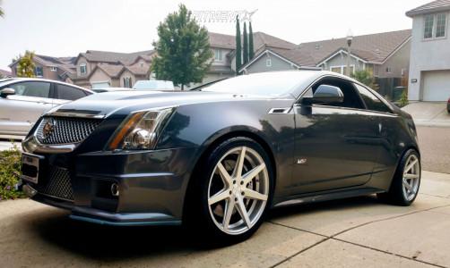 2012 Cadillac CTS-V - 20x11 32mm - Rohana Rc7 - Lowering Springs - 265/35R20