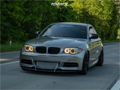 2013 BMW 135i - 18x8 40mm - Niche Dfs - Coilovers - 225/40R18