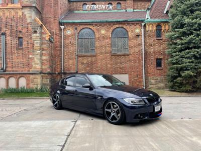 2007 BMW 328xi - 18x8.5 35mm - XXR 575 - Lowering Springs - 245/40R18