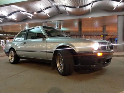 1984 BMW 325e - 16x8 20mm - MST Mt10 - Lowering Springs - 205/45R16