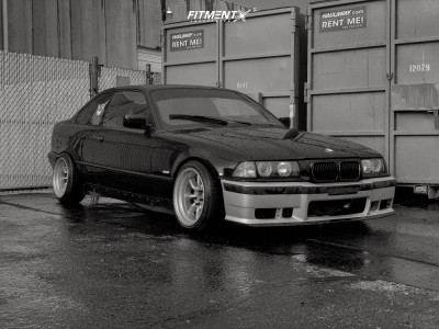 1999 BMW 328is - 16x8.5 -4mm - Watanabe Rs - Coilovers - 205/40R16