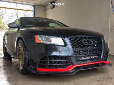 2009 Audi S5 - 19x10 30mm - WatercooledIND Jb1 - Stock Suspension - 275/35R19