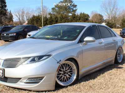2016 Lincoln MKZ - 18x9 35mm - Vors Vr8 - Coilovers - 215/40R18