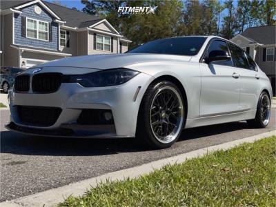 2013 BMW 328i - 19x8.5 30mm - ESR Cs11 - Stock Suspension - 235/30R19