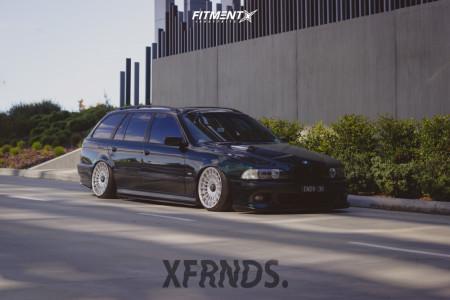 1997 BMW 528i - 18x9.5 35mm - Rotiform Las-r - Coilovers - 215/35R18