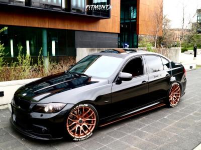 2010 BMW 335i xDrive - 19x8.5 38mm - Breyton Race Gts - Coilovers - 235/40R19