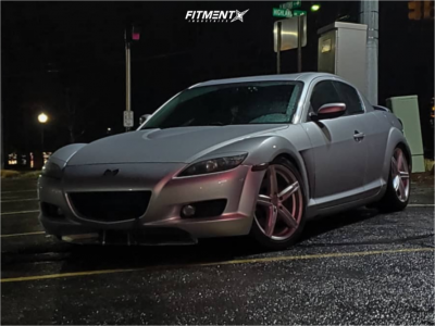 2004 Mazda RX-8 - 18x8 45mm - Vision Boost - Coilovers - 225/45R18