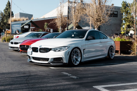2017 BMW 440i - 19x9.5 32mm - BC FORGED Hcs21s - Coilovers - 225/40R19