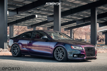 2008 Audi S5 - 19x10 25mm - Rotiform Forged Sna - Coilovers - 275/30R19