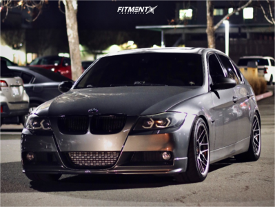2008 BMW 335i - 18x9.5 35mm - Apex Arc-8 - Coilovers - 255/35R18