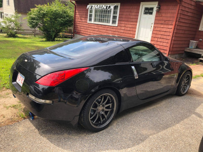 2007 Nissan 350Z - 18x9.5 15mm - Aodhan Ds02 - Coilovers - 275/35R18