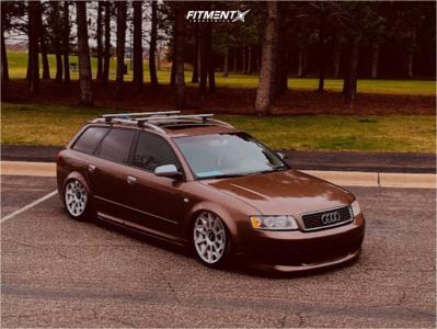 2004 Audi A4 - 19x8.5 45mm - Rotiform Cvt - Air Suspension - 245/40R19