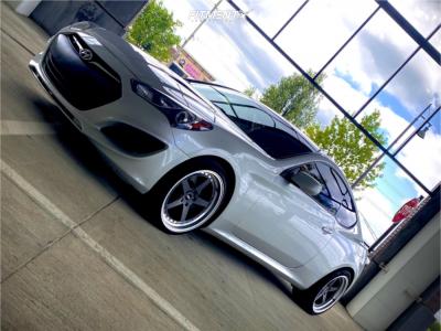 2013 Hyundai Genesis Coupe - 19x9.5 22mm - ESR Cs5 - Lowering Springs - 235/35R19