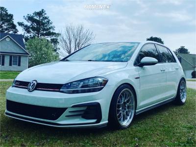2019 Volkswagen GTI - 18x8.5 45mm - F1R F21 - Lowering Springs - 225/45R18