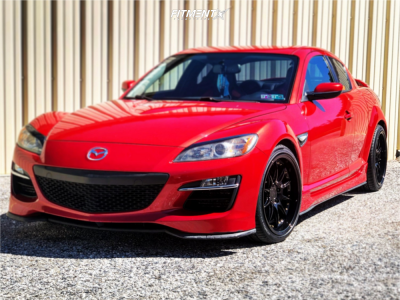 2011 Mazda RX-8 - 18x9.5 30mm - Aodhan Ds07 - Coilovers - 245/30R18