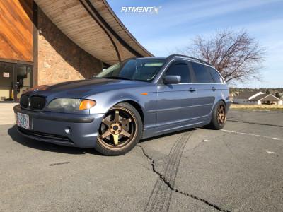 2002 BMW 325i - 17x9.5 20mm - ESR Sr07 - Coilovers - 235/45R17