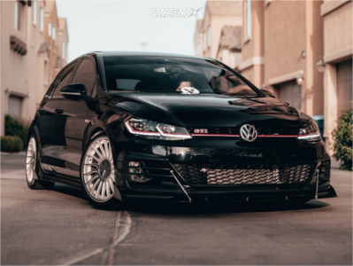 2019 Volkswagen GTI - 18x8.5 42mm - 3SDM 0.04 - Coilovers - 225/40R18