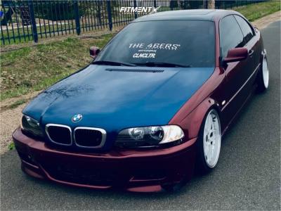 2000 BMW 3 Series - 18x9.5 22mm - ESR Cs15 - Stock Suspension - 215/35R18