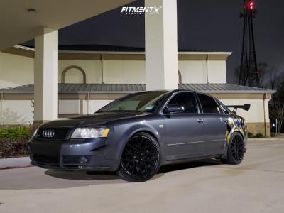 2003 Audi A4 Quattro - 19x8.5 42mm - Rotiform Blq - Lowering Springs - 225/35R19
