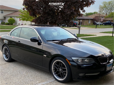2011 BMW 328i - 18x8.5 30mm - ESR Cs15 - Stock Suspension - 225/45R18
