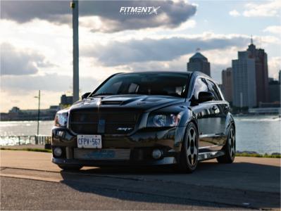 2008 Dodge Caliber - 18x9.75 45mm - Fifteen52 Tarmac - Coilovers - 245/45R18