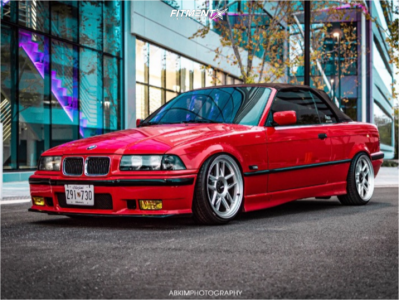 1995 BMW 328i - 18x9.5 22mm - Revolve Apvd No 1219 - Coilovers - 205/35R18
