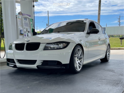 2007 BMW 335i - 18x8.5 30mm - Aodhan Ls008 - Coilovers - 245/40R18
