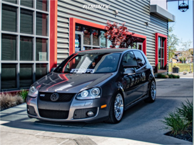 2007 Volkswagen GTI - 18x8.5 45mm - F1R F21 - Coilovers - 225/40R18