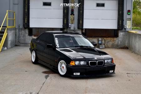 1997 BMW 328i - 16x7.5 30mm - BBS Style 5 - Coilovers - 205/50R16