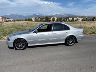 2002 BMW 530i - 18x8 20mm - Motiv Foil - Stock Suspension - 235/40R18