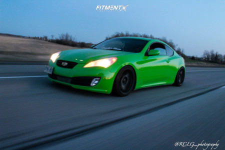 2012 Hyundai Genesis Coupe - 18x9 30mm - 720 Form Gtf2 - Coilovers - 225/30R18