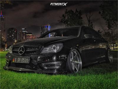 2012 Mercedes-Benz C300 - 19x9.5 22mm - ESR Sr07 - Coilovers - 225/35R19
