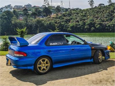 1999 Subaru WRX STI - 16x7 40mm - Speedline Corse 2108 - Coilovers - 205/45R16