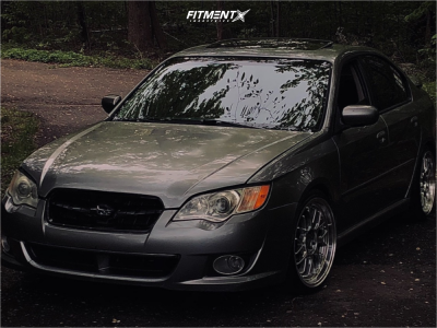 2009 Subaru Legacy - 18x8.5 38mm - F1R F21 - Coilovers - 215/35R18