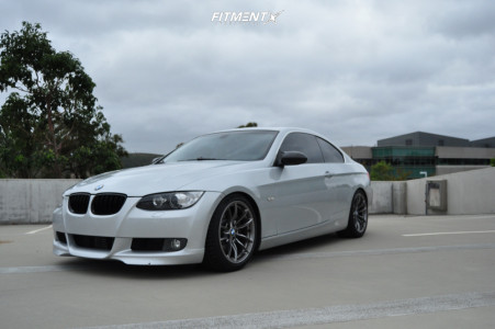 2008 BMW 335i - 18x9 29mm - Bmw Style 513m - Coilovers - 235/40R18