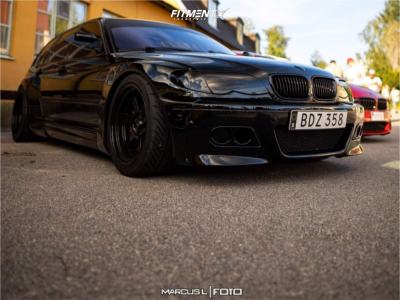 2005 BMW 3 Series - 18x10 20mm - Japan Racing Jr12 - Coilovers - 265/35R18