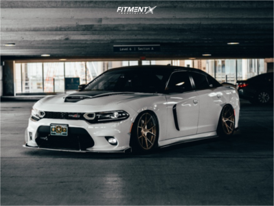 2019 Dodge Charger - 20x10 15mm - Stance Sf-07 - Air Suspension - 275/40R20