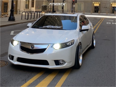 2012 Acura TSX - 19x9.5 15mm - Aodhan Ds07 - Coilovers - 235/35R19