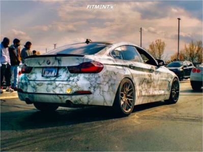 2019 BMW 440i xDrive Gran Coupe - 19x8.5 35mm - Niche Gamma - Air Suspension - 245/45R19