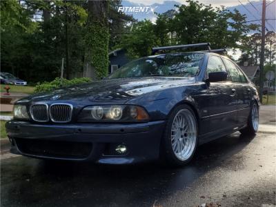 2002 BMW 540i - 18x9.5 35mm - ESR Sr05 - Coilovers - 255/35R18